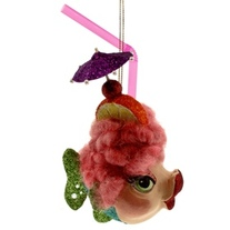 Kissing Fish Ornaments
